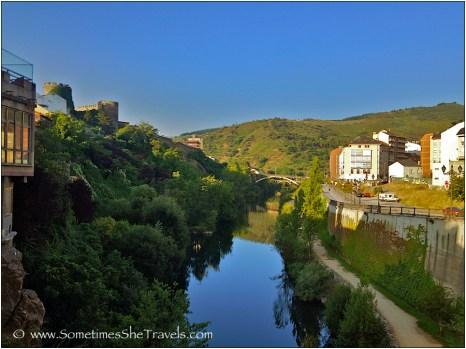 The river in Ponferrada