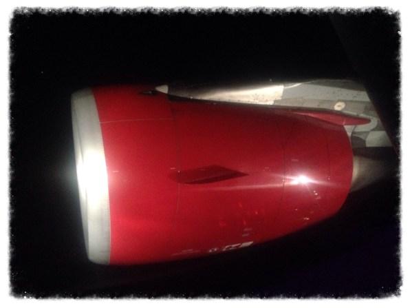 Virgin airplane