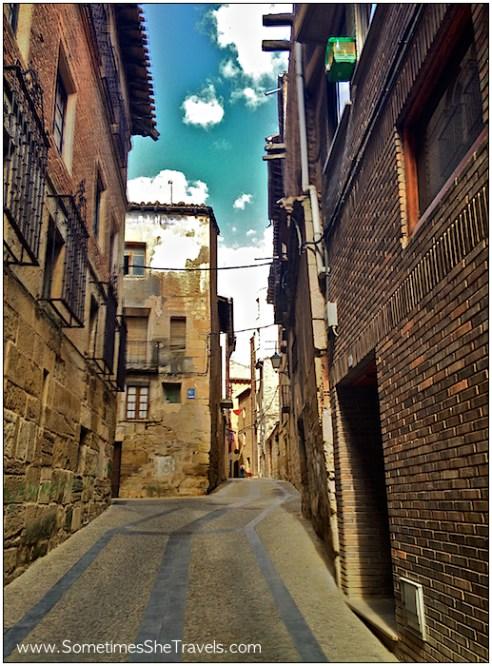 camino de santiago entering viana