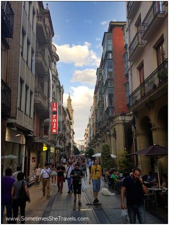 Camino de Santiago: Logroño Street