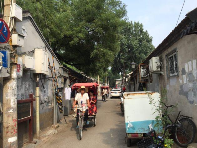 Rickshaw hutong Beijing
