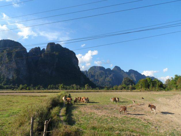 Vang Vieng countryside, Laos