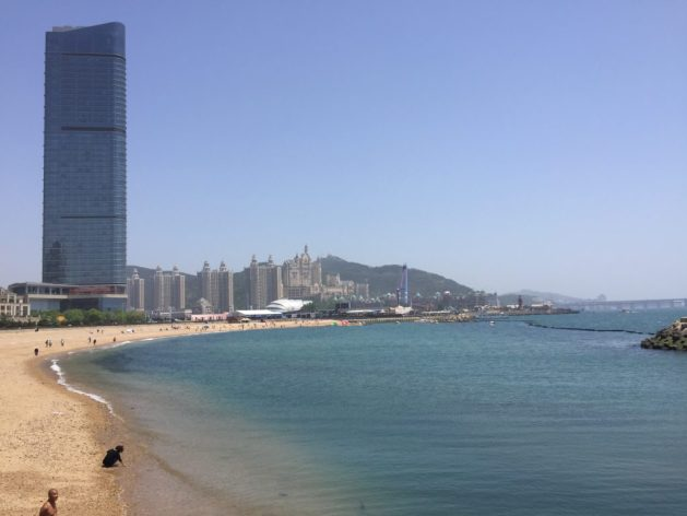 Dalian Xinghai beach