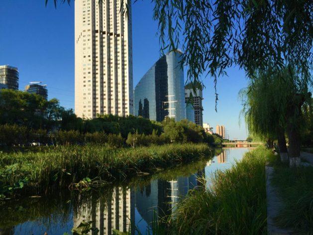 Liangma He in Beijing, China
