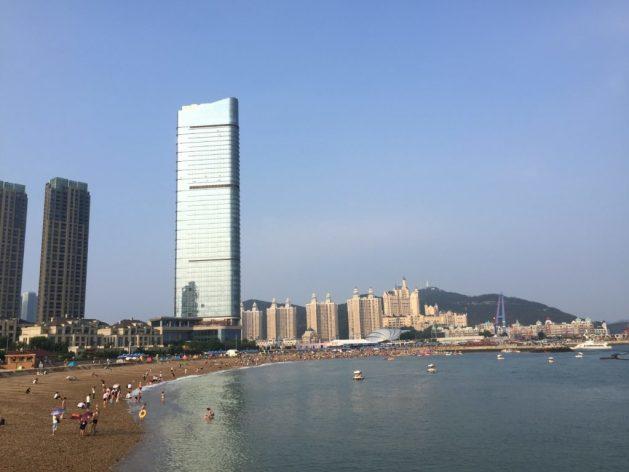 Xinghai beach, Dalian