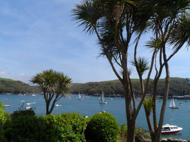Fowey, Cornwall. May 2014.