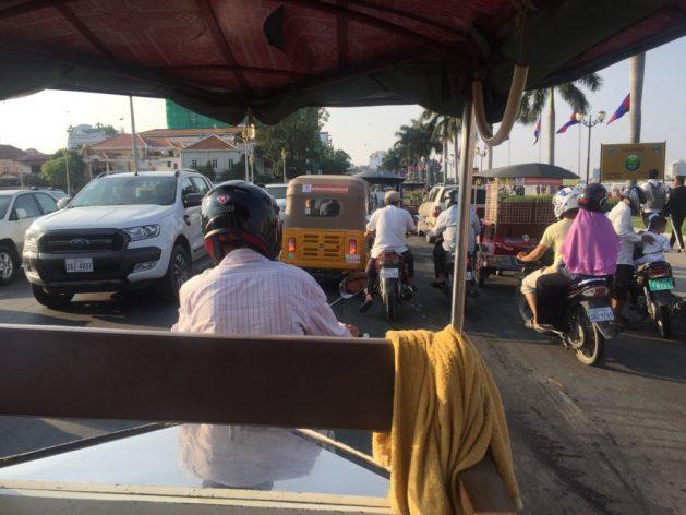 Different transportation in Phnom Penh