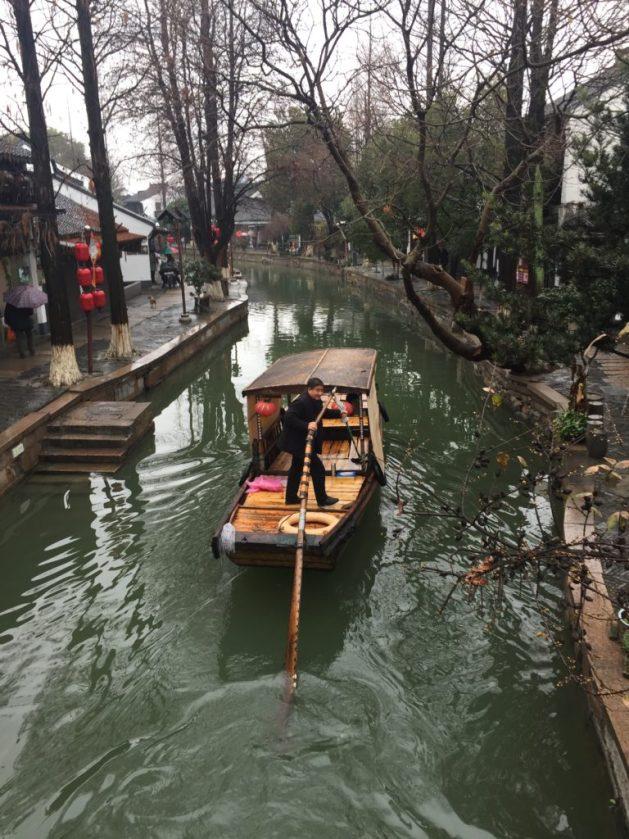 Traditional Chinese boat, Zhujiajiao
