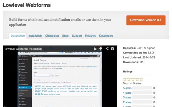 Lowlevel-Webforms-