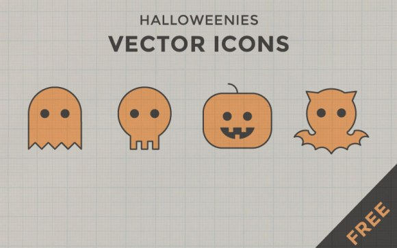 Halloweenies--free-icons