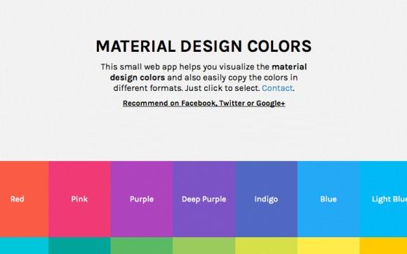 Material-Design-Colors