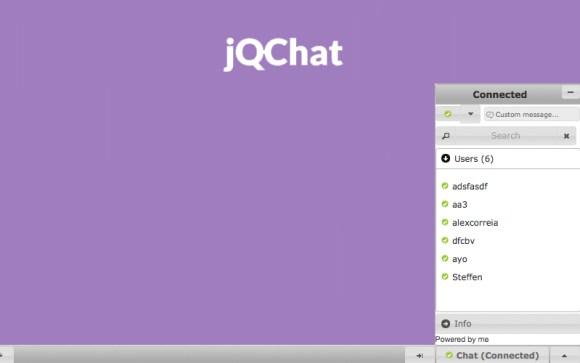 jQChat