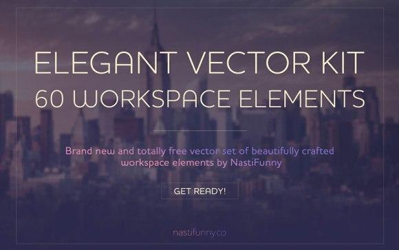 Elegant-Vector-Kit-with-60-Workspace-Elements