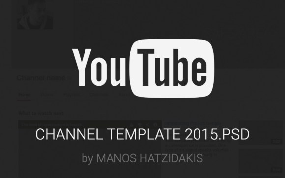 Youtube-channel-2015-Free-PSD