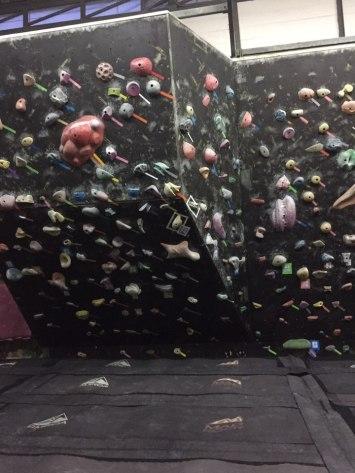 Rock climbing place