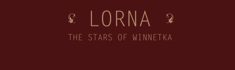 Lorna: The Stars of Winnetka (Self-Release, 2016)