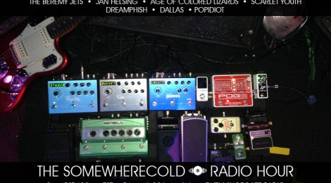 The Somewherecold Radio Hour on DKFM Launch - April 26, 2017