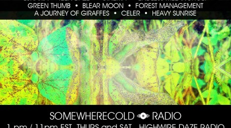 THURS/SAT: The Somewherecold Radio Hour 36