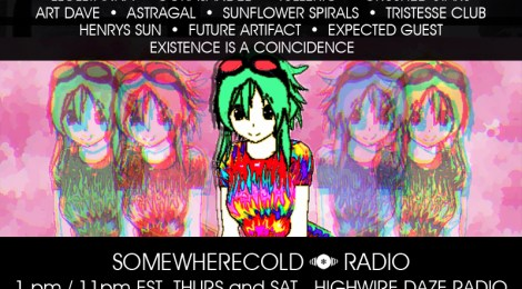 THIS THURS/SAT: The Somewherecold Radio Hour #37