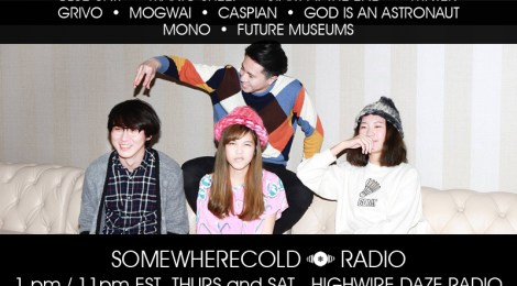 NOW STREAMING: The Somewherecold Radio Hour #40