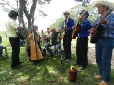 Fiesta Patronal 2014; our live band who dedicated two songs to me, a polka and a Mexican waltz. Awwww.