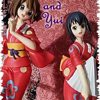 Azusa Nakano and Yui Hirasawa- Banpresto