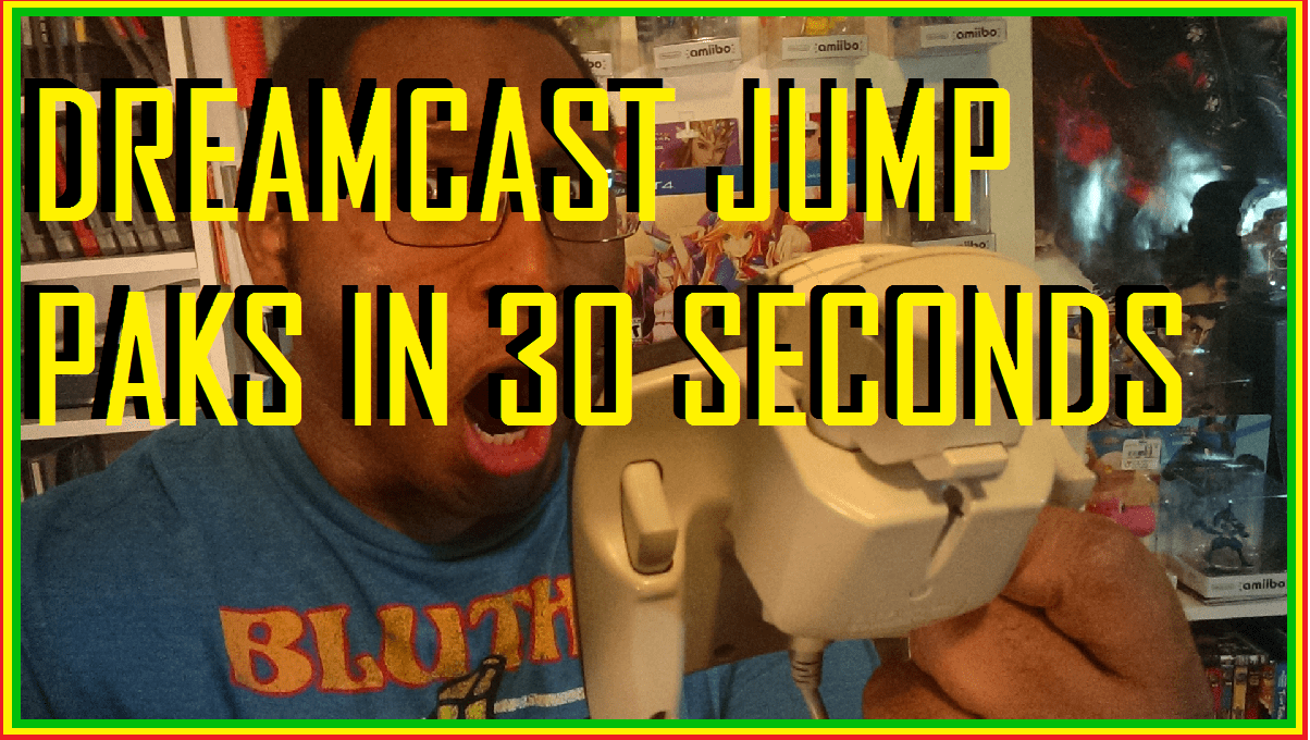 Dreamcast Jump Paks in 30 Seconds