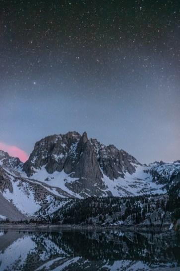 Big Pine Lakes Night Photography