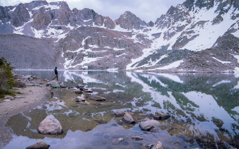 Backpacking Duck Pass to Pika and Purple Lakes | SomewhereSierra