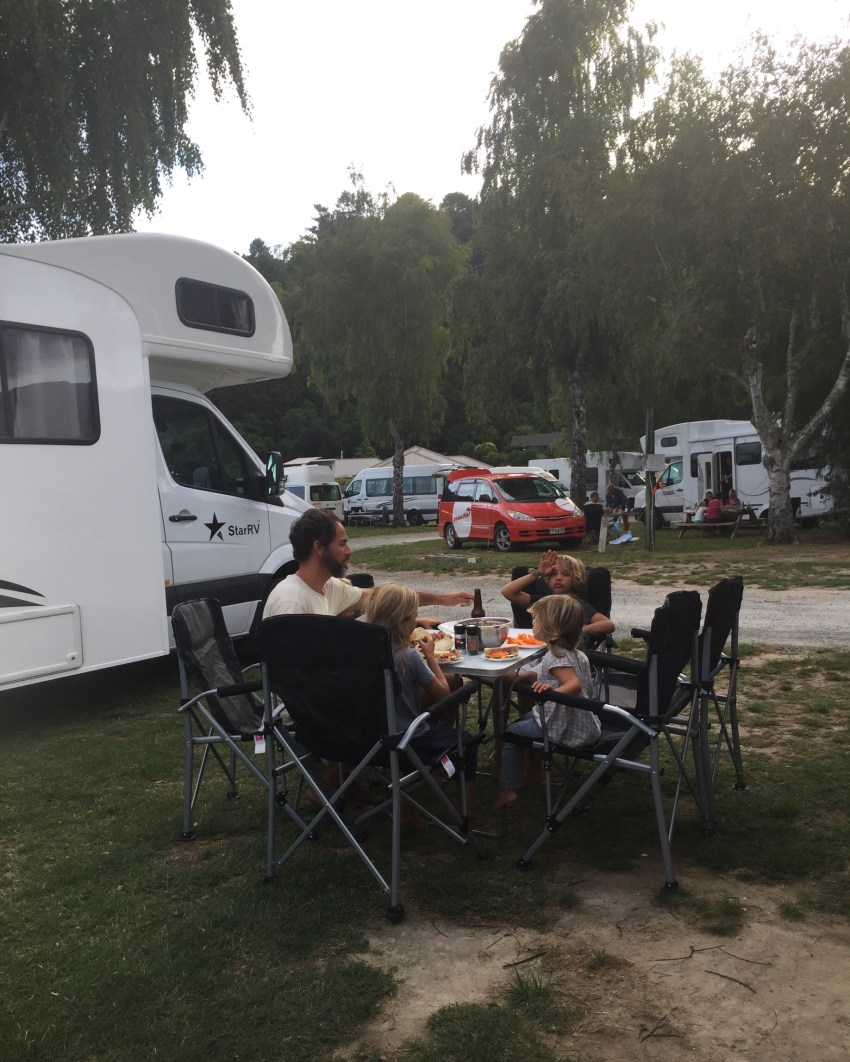 Abel Tasman campsite