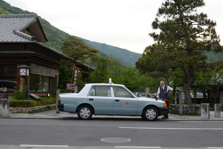 Taxi in Kyoto