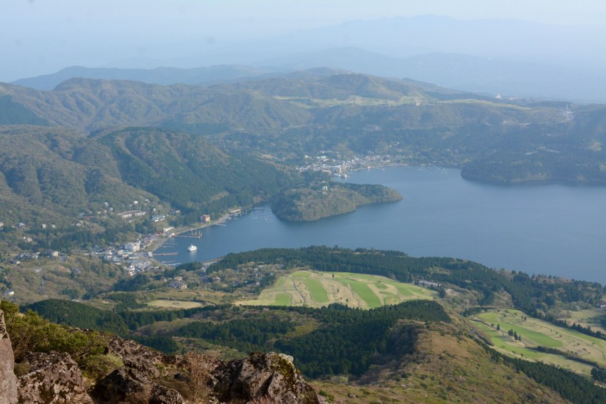 view of Lake Ashi and Hakone