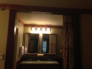 Port Orleans Riverside Bathroom