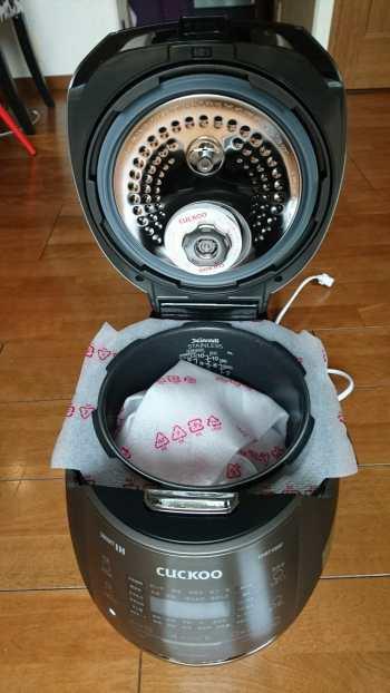 発芽酵素玄米専用炊飯器 CUCKOO New圧力名人DX