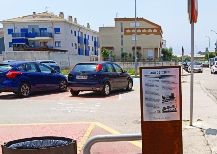 placas de Memoria Democrática Gandia