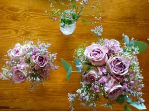 Bröllopsbuketter