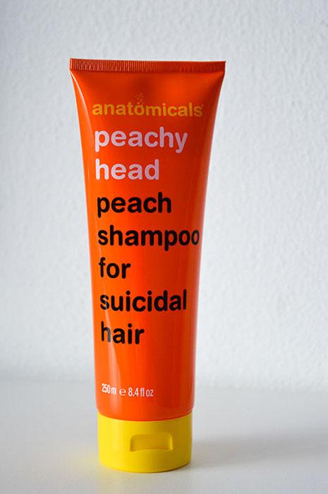 Anatomicals Peach shampoo for suicidal hair 1