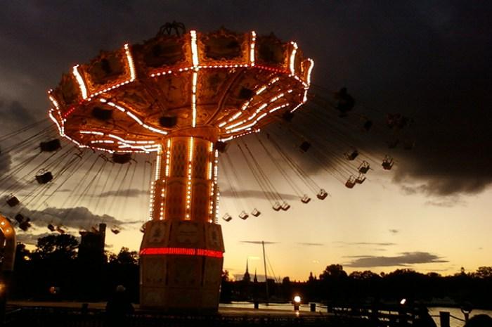 Reistips voor Stockholm - Gröna Lund carrousel