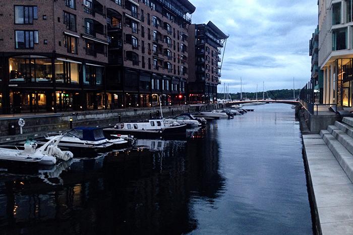 citytrip Oslo - akerbrygge