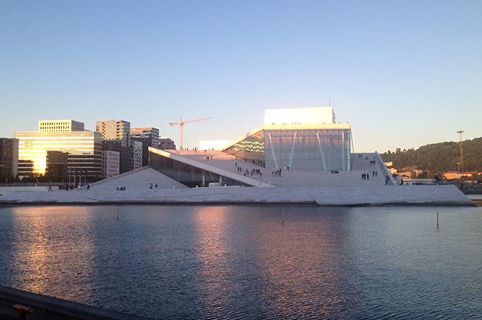 citytrip Oslo - operahuset
