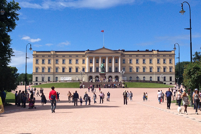 citytrip Oslo - paleis
