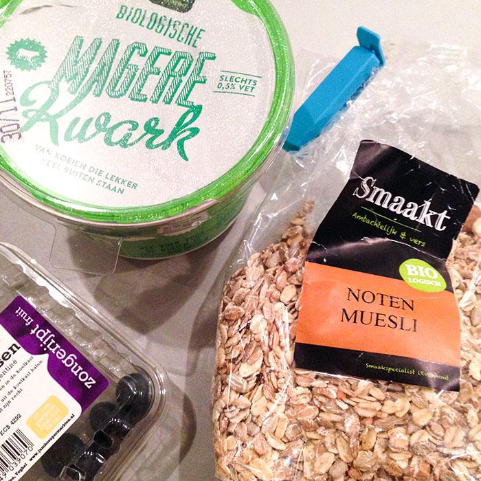 eten zonder toegevoegde suikers ontbijt
