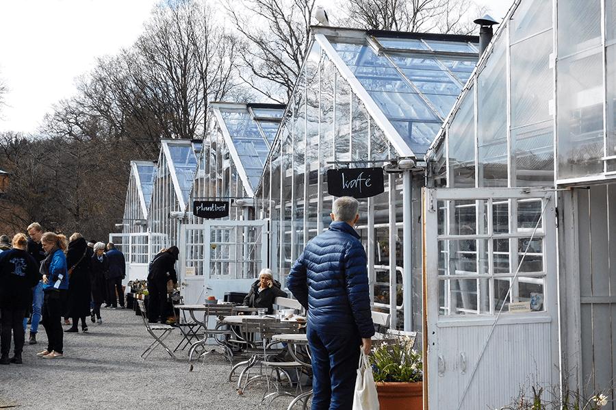 Op de fiets door Stockholm - Rosendals Trädgård