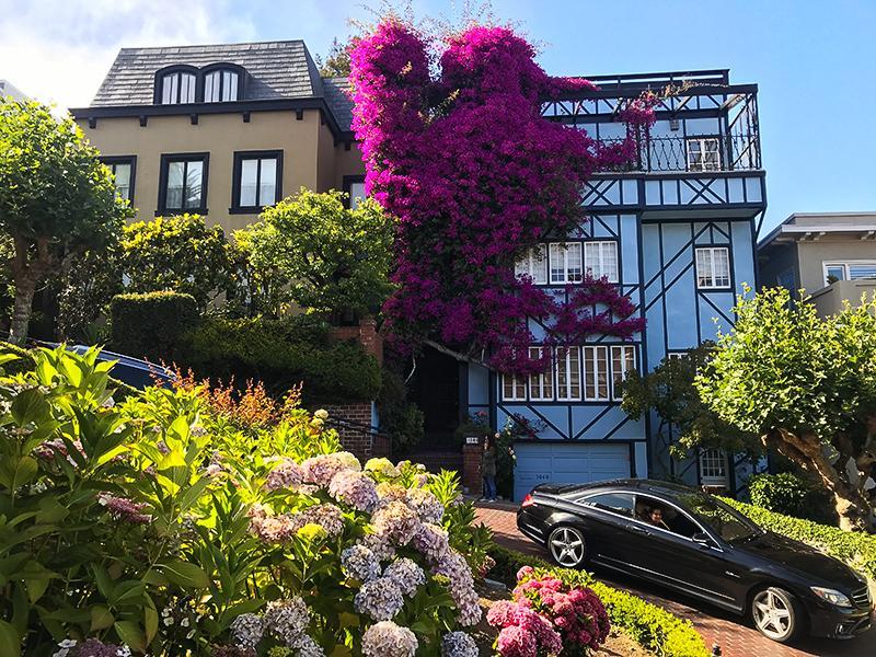 Citytrip San Francisco Lombard Street