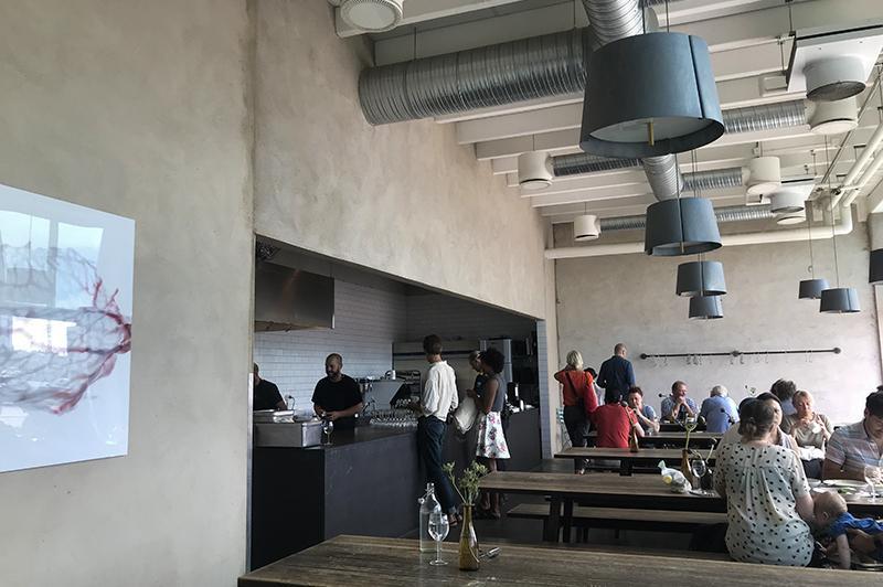 Saltimporten Canteen - interior