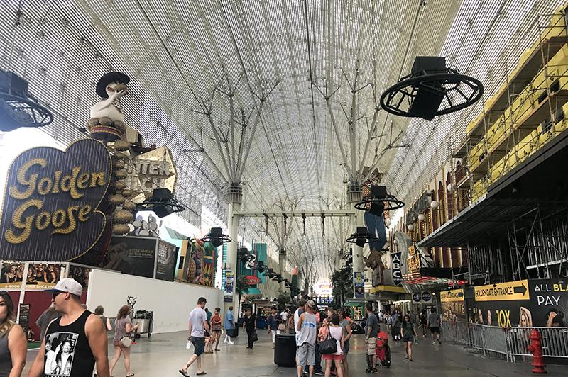 Doen in Las Vegas - Fremont Street 02