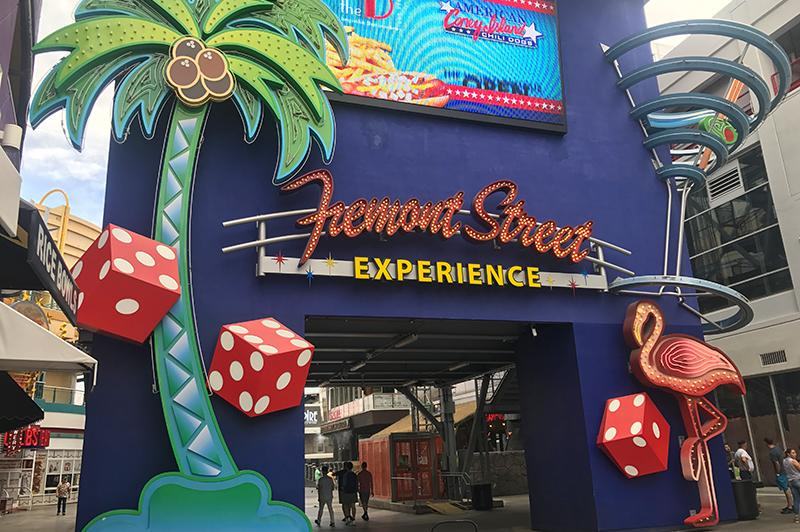 Doen in Las Vegas - Fremont Street