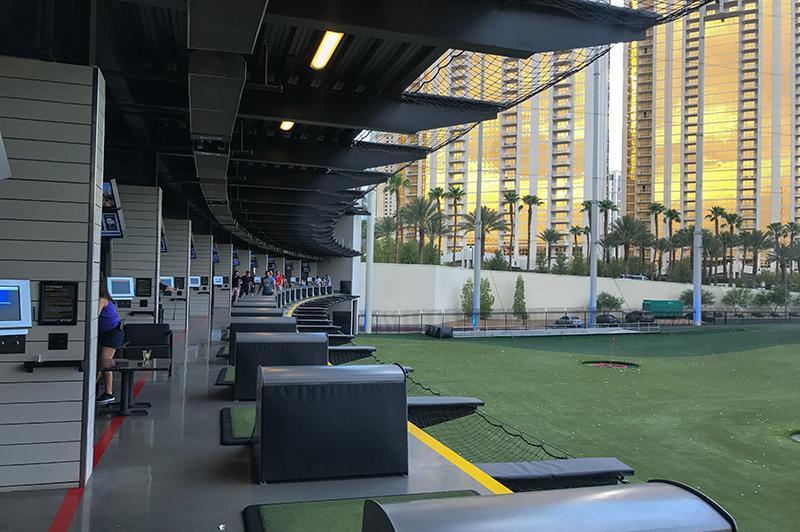 Doen in Las Vegas - Top golf Vegas
