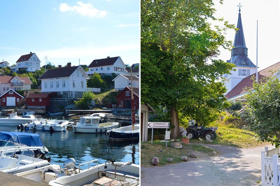 Gullholmen bebouwing - West-Zweden