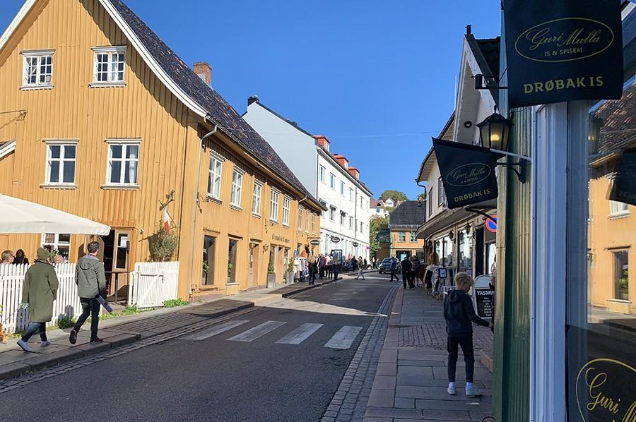 Drøbak centrum - sommarmorgon.com